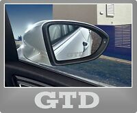 GTD Etched glass effect wing mirror stickers - Golf VW Vinyl Sickers