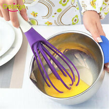 Multifunction Handle Whisk Silicone Kitchen Mixer Balloon Wire Egg Beater Tool