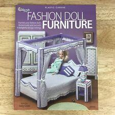Fashion Doll Furniture Barbie Bedroom Patio Picnic Table Plastic Canvas 849502