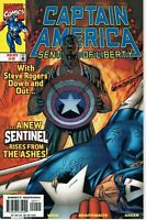 CAPTAIN AMERICA SENTINEL OF LIBERTY # 9, 1st Full App Sam Wilson as Cap DISNEY+