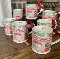 Sur La Table Candy Shop Mug Holiday Christmas With Gift Tag