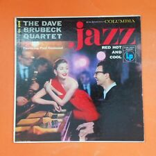DAVE BRUBECK QUARTET Jazz Red Hot & Cool CL699 6i LP Vinyl VG+ Cover VG+