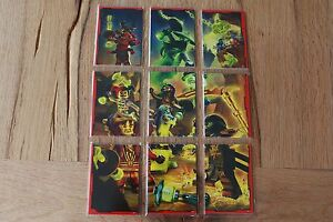 Lego ninjago™ Series 2 Puzzle Cards 181-216 choose From Allen 4 Puzzles