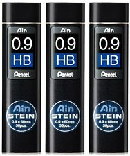 3 x Japan Pentel New Ain Pencil Refill Lead 0.9mm HB 3 tubes
