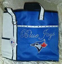 Toronto Blue Jays Rhinestone Blinged MLB Purse Tote Bag ~NEW~