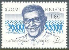 Finland 1988 MNH - Lauri Pihkala - the Inventor of Pesapallo, Finnish Baseball