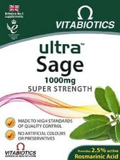 Vitabiotics Ultra Sage 30 Tablets