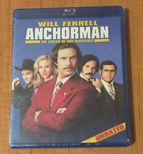 Anchorman: The Legend of Ron Burgundy (Blu-ray Disc, 2011, Unrated) Sealed