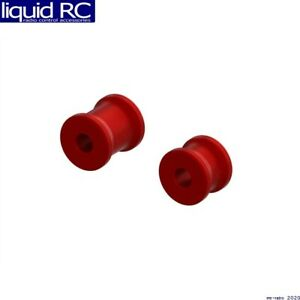 Arrma 320569 Aluminum Chassis Brace Spacer Set Red