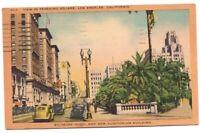 Pershing Square Biltmore Auditorium Los Angeles Ca Vintage Postcard California