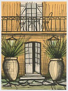 Bernard Buffet original lithograph
