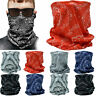 3 Pieces Multi Use Tube Bandana Scarf Head Face Cover Mask Neck Gaiter Paisley