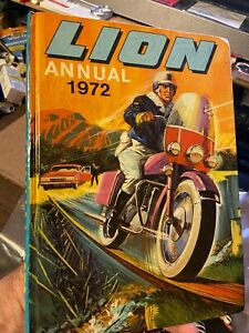 Lion Annual 1972 (Hardcover, UK) VG Cond.