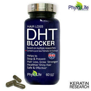 Prevent Hair Loss DHT BLOCKER With Pure Saw Palmetto Oil by Keratin Research USA