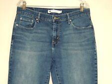 Levis 515 Womens Bootcut Dark Wash Stretch Denim Jeans Size 10M 30x32
