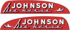 JOHNSON SEAHORSE - 400mm x 175mm X 2 - OUTBOARD DECALS