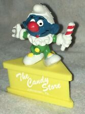 Promo Smurf-a-Gram Candy Store Jester Stand Cane Star Hat Magic PA Puffi Pitufo