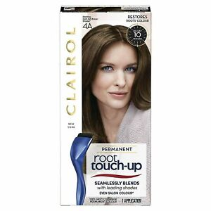 3 x Clairol Nice 'n Easy Root Touch Up Permanent Dark Brown 4A New