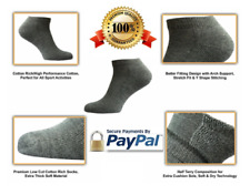 Brand New Sport Unisex Thick Premium Low Cut Ankle Half Terry Trainer Socks Lot
