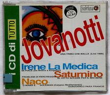 Jovanotti La Medica Saturnino CD singolo promo allegato a TUTTO