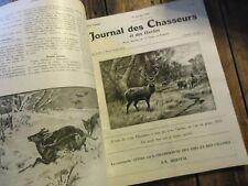 RARE JOURNAL DES CHASSEURS ET DES GARDES CHASSE TAXIDERMIE CHIEN 1919-1930 9VOL