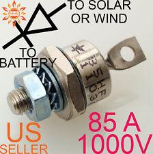 85A 1000V BLOCKING DIODE WIND GENERATOR SOLAR PANEL 85 AMP PANELS TURBINE STUD A