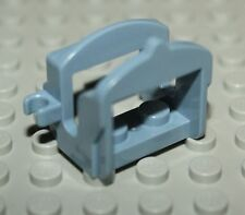 LeGo Castle Sand Blue Horse Saddle w/ 2 Clips NEW
