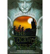 The Clockwork Three, Matthew Kirby, New Book