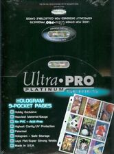 (50) 9-POCKET TRADING CARD ULTRA-PRO PLASTIC SHEETS / PAGES - PRIORITY SHIPPING