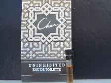 Cher Uninhibited Perfume For Women Sample Vial 0.03 oz Eau de Toilette Splash