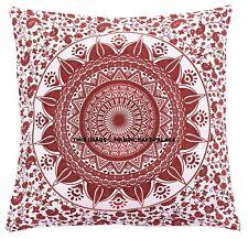 Geometric Mandala Throw Pillow Case Cotton Sofa Cushion Cover Home Decor Indian
