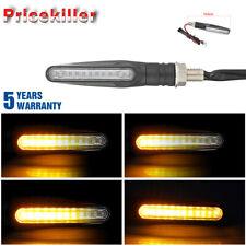 1x LED Motorcycle Sport Bike Motorbike Turn Signal Indicator Light Amber 12V UK