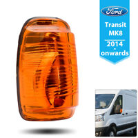 Amber Wing Mirror Clear Indicator Light Cover Fit Transit MK8  2014 on Left Side