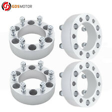 """4pc 2"""" 6x5.5 Wheel Spacer Adapters 14x1.5 for 2000-2018 Chevrolet Suburban 1500"""