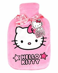 Hello Kitty hot  water bottle and cover set