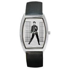 Elvis Presley Jailhouse Rock Barrel Style Metal Watch bw19