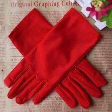 1Pair Women's Stretch Satin Gloves Evening Party Wedding Formal Prom Gloves