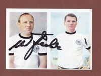 Uwe Seeler ... HSV /DFB   .... Signiertes  SICKER  Sammelbild
