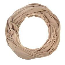 Écharpes et châles beige en polyester pour femme