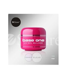 Silcare Base One Clear Uv Gel Nails Builder 50g Acid FREE
