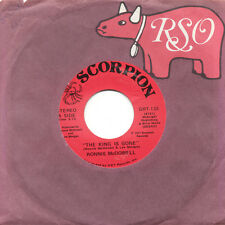 RONNIE McDOWELL The King Is Gone / Walking Through US Press Scorpion GRT-135 SP