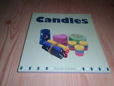 CANDLE MAKING BOOK - TECHNIQUES, SCENTS, COLOURS, WICKS, WAX, 30 RECIPES ETC