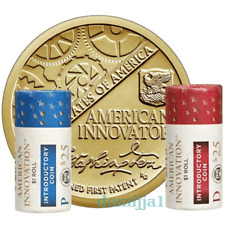 2018 American Innovation Dollar-D & P 2 Roll Set / Unopened Mint Sealed Boxes!!