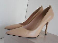 SJP Fawn Women US 38.5  M Nude Leather Heels
