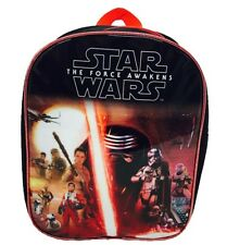 STAR WARS BACKPACK THE FORCE AWAKENS DISNEY BACK TO SCHOOL ACCESSORIES BAG