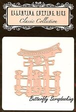 JAPANESE TEMPLE GATE Die Cutting Die Ellentina Craft Die Cutting Die DCM339 New