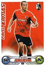 93 Pavel Krmas - SC Freiburg - TOPPS Match Attax 2009/2010