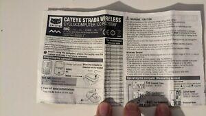 CatEye Strada wireless bike computer
