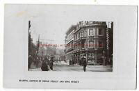 Berkshire Reading Corner of Broad Street & King Street RP Vintage Postcard