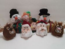 Large Collection Of 10 Christmas Silly Slammers Salesman Samples